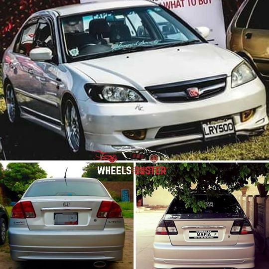 honda civic eagle eye bodykit