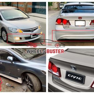 honda civic reborn bodykit